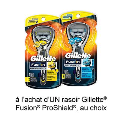 Coupon Rabais A Imprimer Sur Gillette De 2$ Sur Maxi