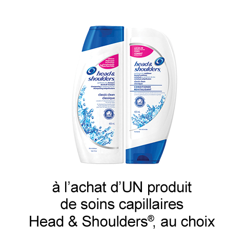 Coupon Rabais Maxi Imprimable De 1$ Sur Head & Shoulders