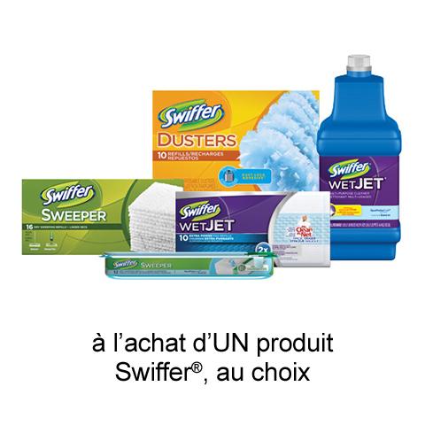 Coupon Rabais Swiffer Imprimable De 1$ Sur Maxi