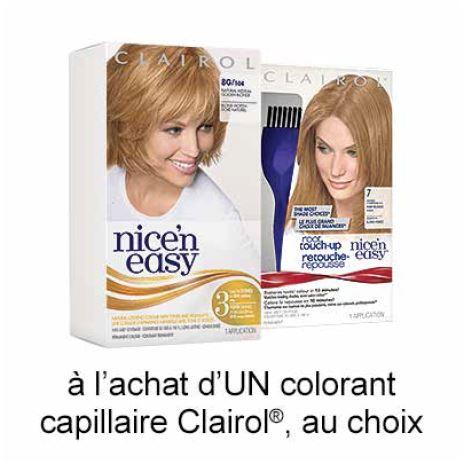 Obtenez Le Coupon Rabais Clairol Gratuit A Imprimer De 1$