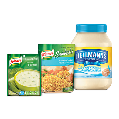 Coupon Rabais Knorr Or Hellmann's A Imprimer De 1$ Sur Utilisource