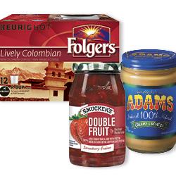 Coupon Rabais Smuckers. Adams And Folgers Par La Poste De 3$