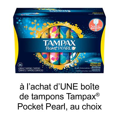 Nouveau Coupon Rabais Tampax A Imprimer De 1$