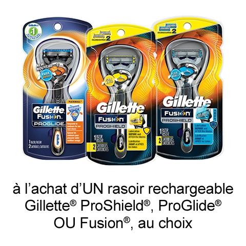 Coupon Rabais Gillette Imprimable De 2$