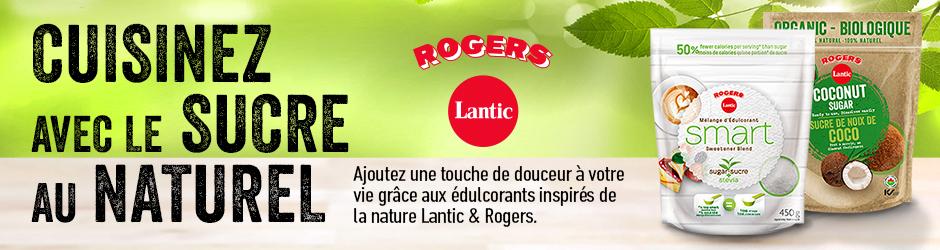 Nouveau Coupon Rabais Lantic & Rogers Postal De 1$
