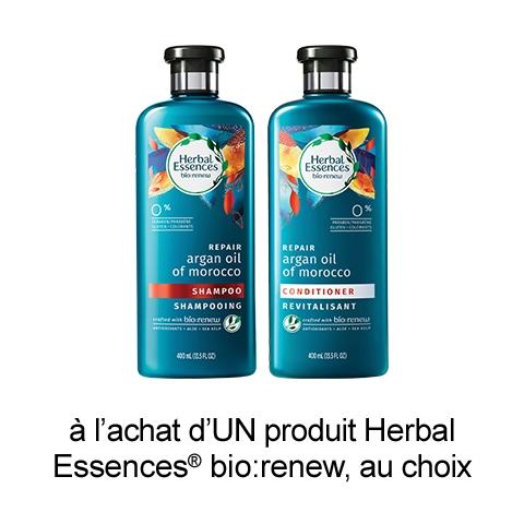 Save: Coupon Rabais A Imprimer Sur Herbal Essences De 1$
