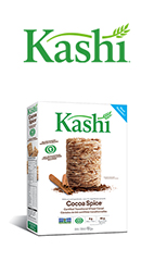 Coupon Rabais A Imprimer De 1$ Sur WebSaver Sur Kashi Cocoa Spice
