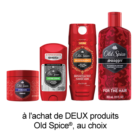 Nouveau Coupon Rabais Imprimable Sur Old Spice De 2$