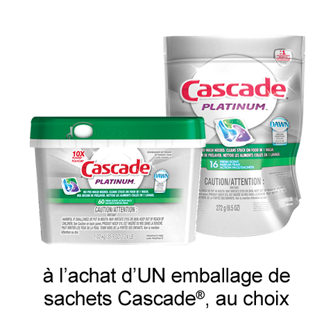 pgEveryDay: Coupon Rabais Cascade Imprimable De 2$