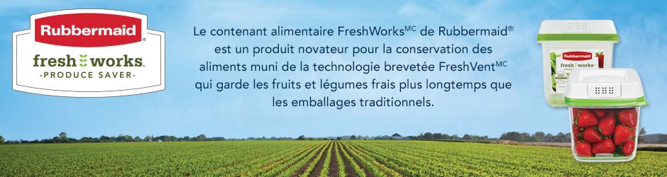 Nouveau Coupon Rabais Rubbermaid Freshworks Par La Poste De 3$