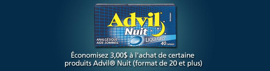 Walmart: Coupon Rabais Par La Poste Gratuit Advil De 3$