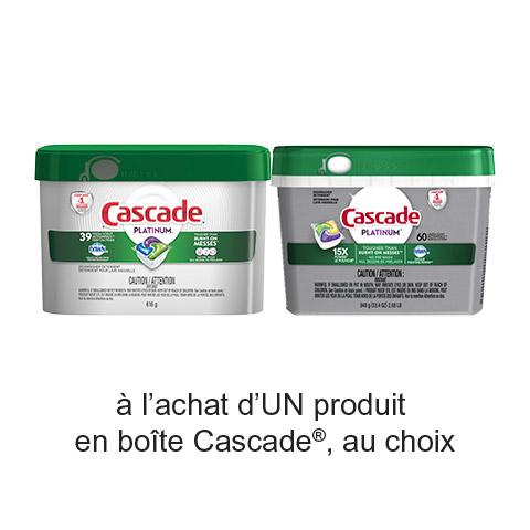 Coupon Rabais A Imprimer Pour Économisez 3$ Sur Cascade