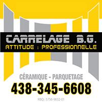 Carrelage B.G. - Promotions & Rabais pour Céramique