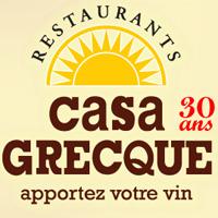 Le Restaurant Casa Grecque - Restaurants à Saguenay - Lac-Saint-Jean