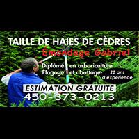 Émondage Gabriel : Site Web, Localisateur Des Adresses Et Heures D'Ouverture