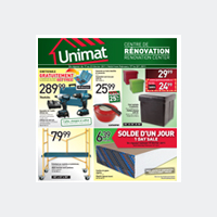 Circulaire Unimat Circulaire - Catalogue - Flyer