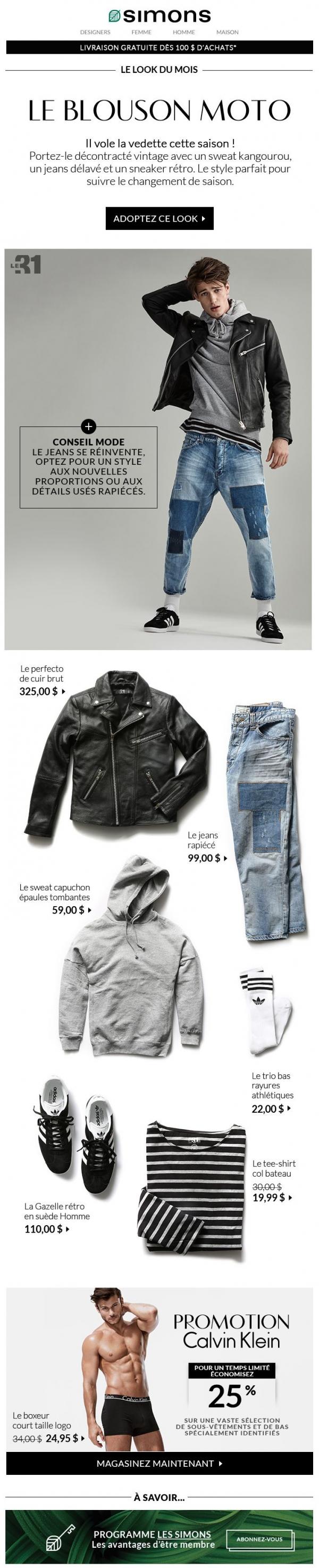 Avril : Le Look Du Mois Pour Homme Promotions Rabais