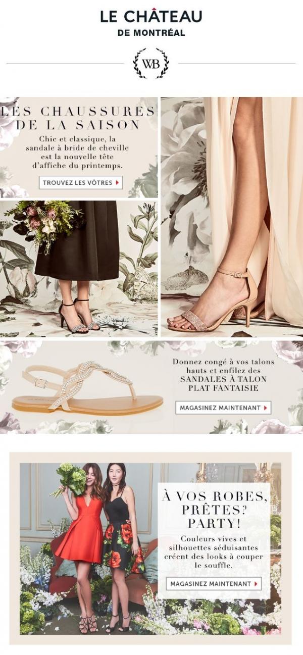 Besoin De Chaussures Pour Une Occasion Spéciale? Promotions Rabais