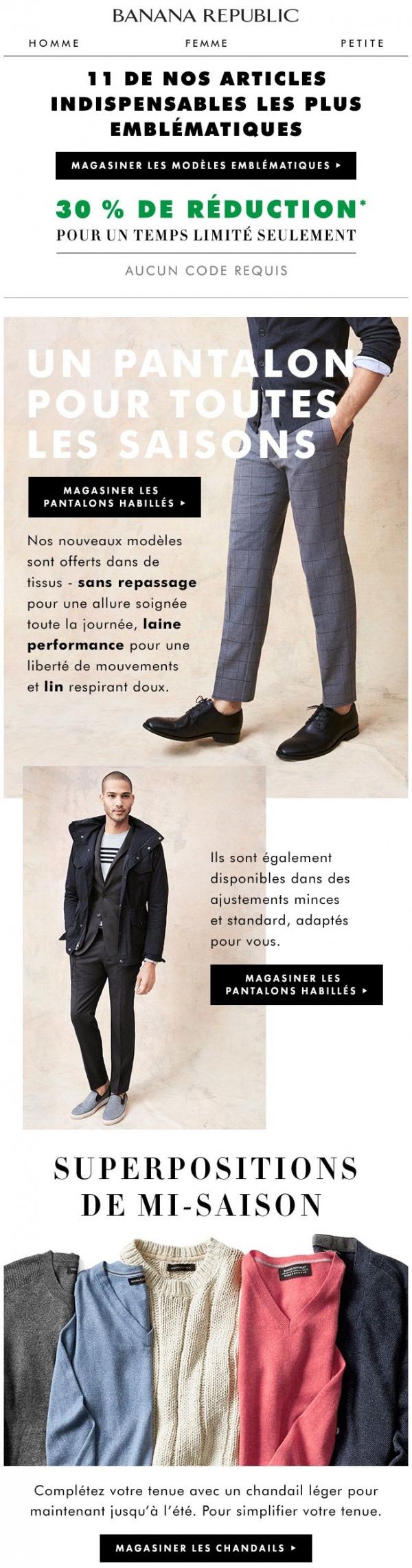 Coupes Incroyables Et Tissus Supérieurs Magasinez Nos Pantalons Promotions Rabais