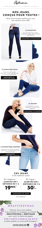 Découvrez Nos Jeans Et Obtenez Les En Promo! Promotions Rabais