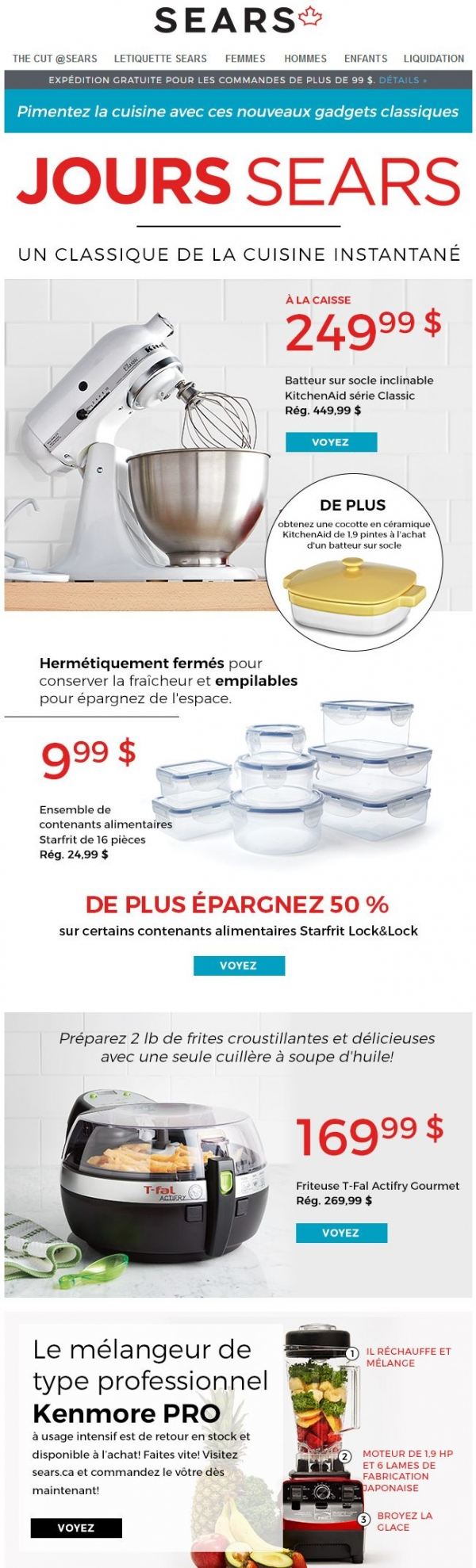 Gadgets De Cuisine Inspirants Promotions Rabais