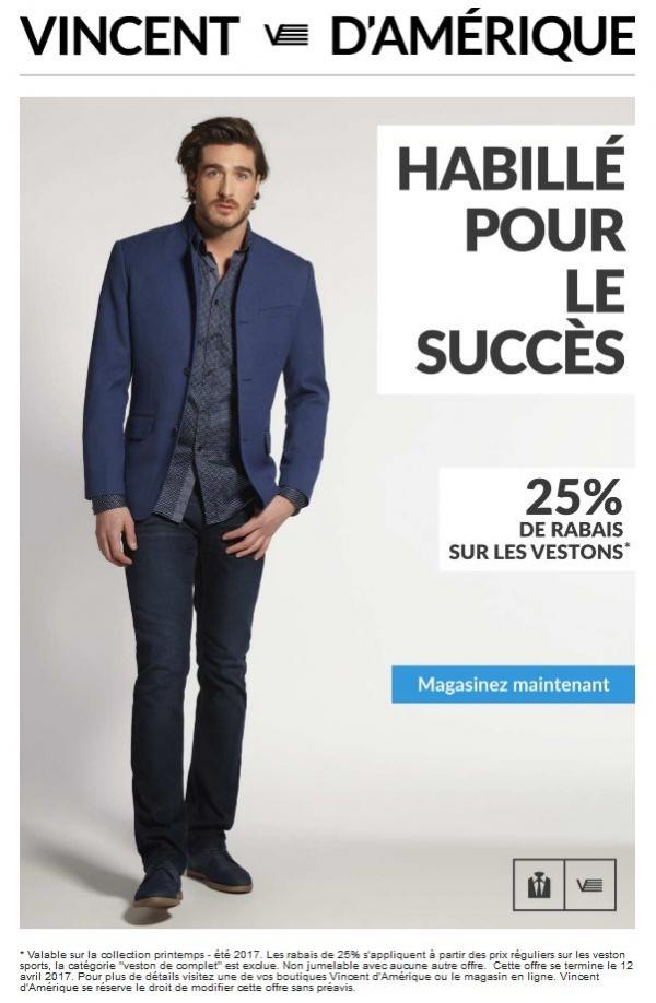Habillé Pour Le Succès Les Vestons Sont Réduits Faites Vites !!! Promotions Rabais