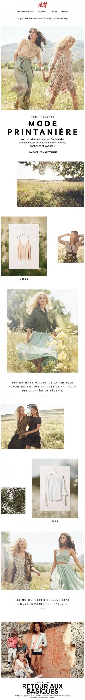 H&m Présentela Mode Printanière Promotions Rabais