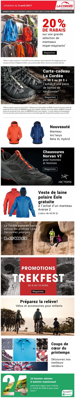 Il Pleut?! – 20% De Rabais Sur Les Imper Respirants Promotions Rabais