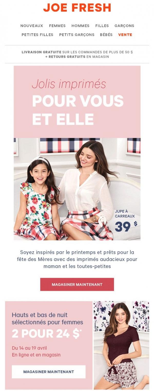 Inspirez Vous: Des Idées Cadeaux Pour Maman Promotions Rabais