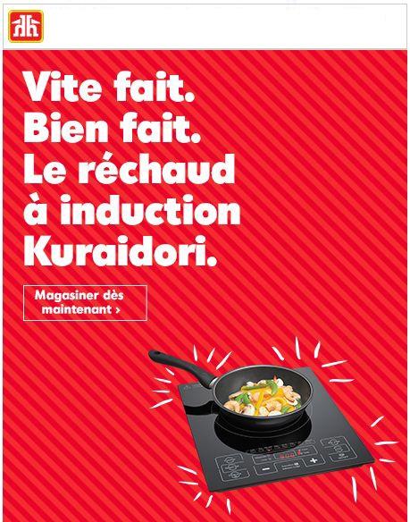 La Surface De Cuisson à Induction De Kuraidori. Mangez à Cœur Joie! Promotions Rabais
