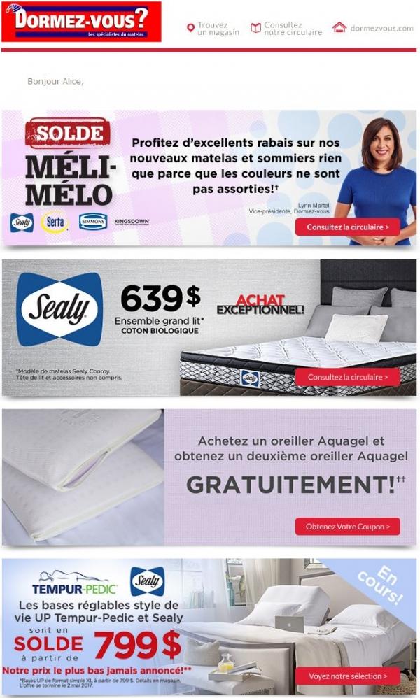 Le Solde Méli Mélo Est En Cours! Promotions Rabais