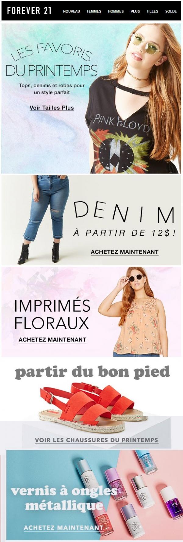 Les Favouris Du Printemps Promotions Rabais