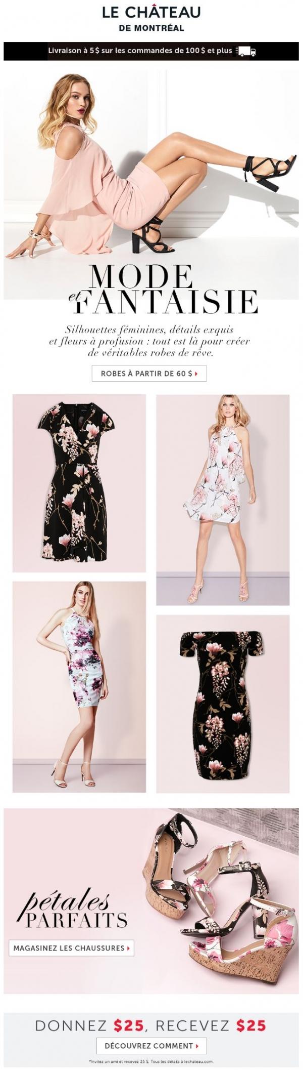 Les Plus Belles Robes Du Printemps Promotions Rabais