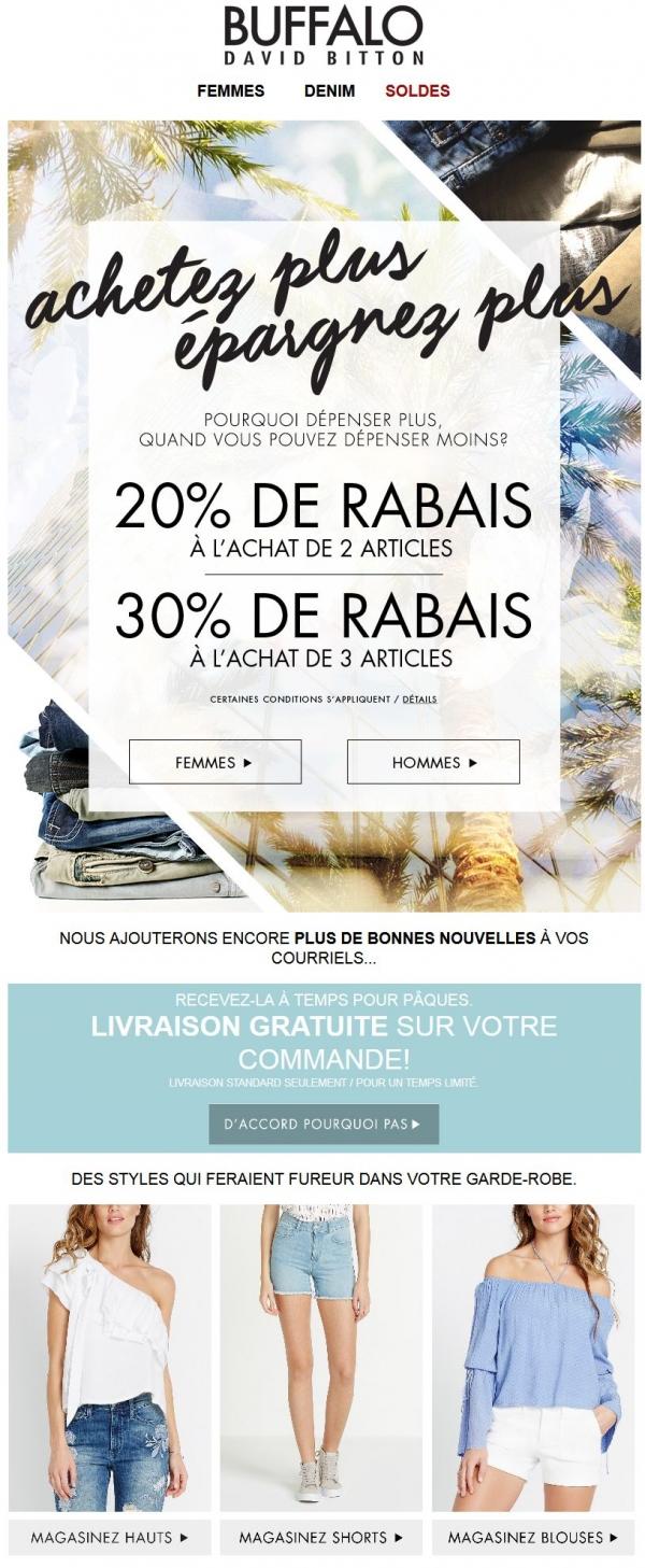 Livraison Gratuite Pour Pâques Promotions Rabais