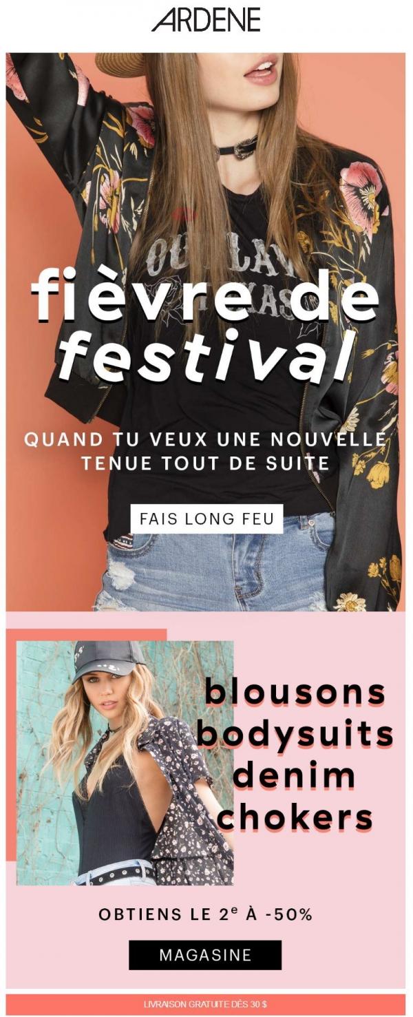 Nos Tenues De Festival Sont En Feu Promotions Rabais
