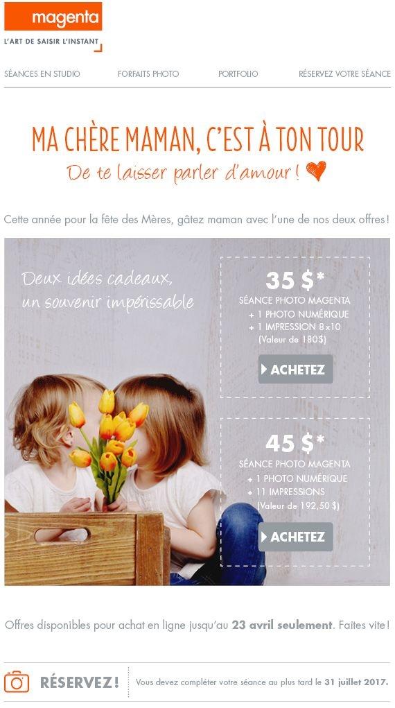 Offres Spéciales Pour La Fête Des Mères Promotions Rabais