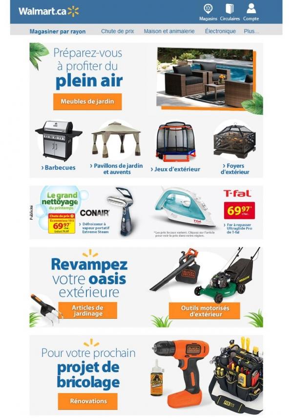 Préparez Vous à Profiter Du Plein Air Promotions Rabais
