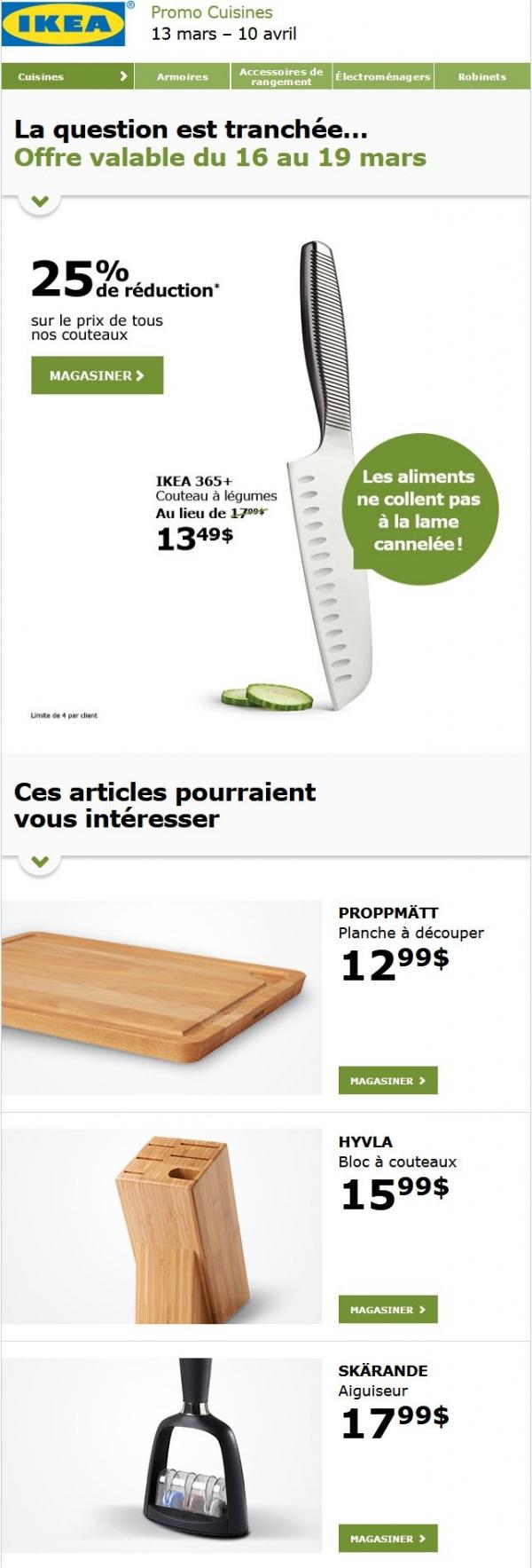 Prix Coupés ! Prix De Tous Les Couteaux De Cuisine Réduit De 25 %. Promotions Rabais