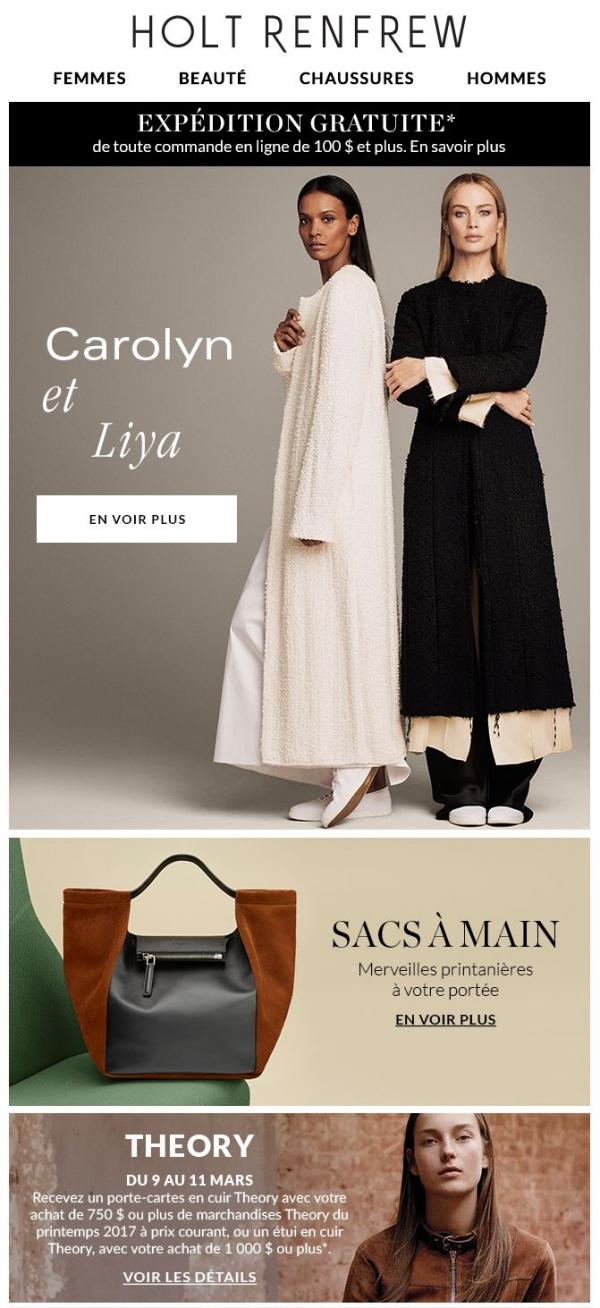 Tiré Du Magazine : Explorez Le Printemps Avec Carolyn Et Liya Promotions Rabais