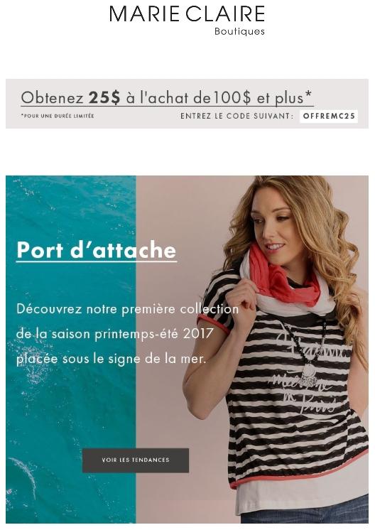 Une Nouvelle Collection Et La Promo Du Printemps Promotions Rabais