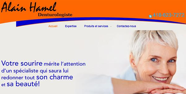 Alain Hamel Denturologiste En Ligne