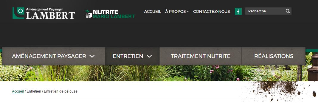 Aménagement Paysager Lambert En Ligne