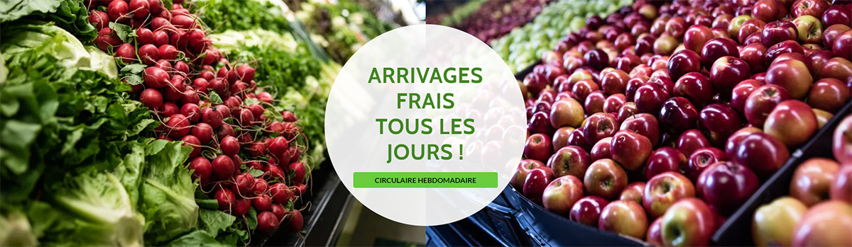 Arrivages Frais Tous Les Jours à La Fruiterie Potager Saint Eustache   Blainville