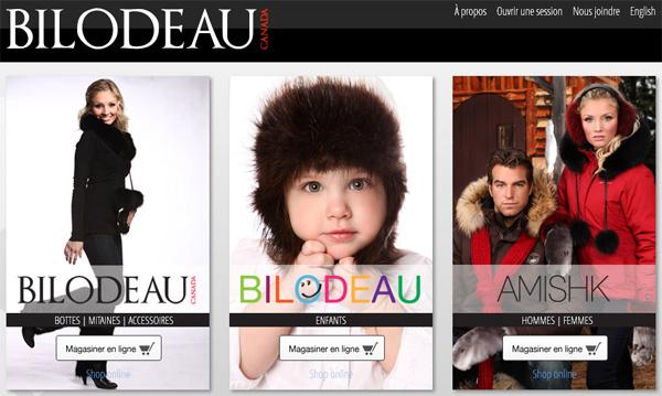 Bilodeau Fourrures Canada