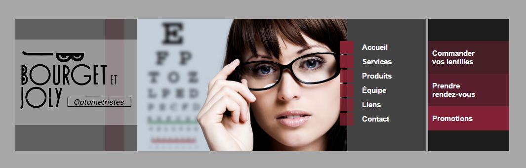 Bourget et Joly Optometristes en Ligne