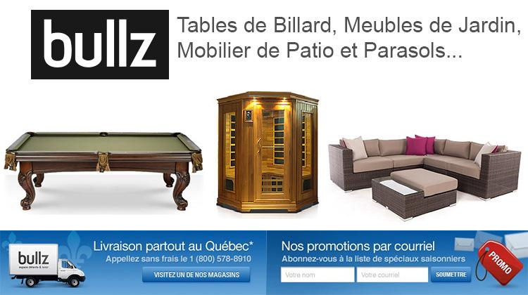 Bullz Meubles De Jardin Tables Billiard Patio