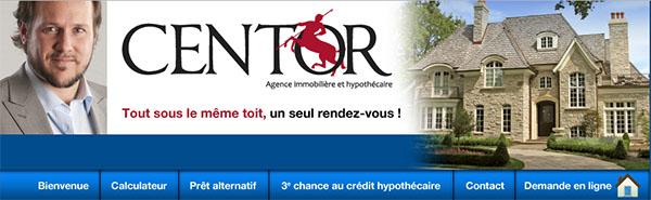 Centor Agence Immobilière Et Hypothécaire En Ligne