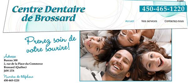 Centre Dentaire De Brossard En Ligne