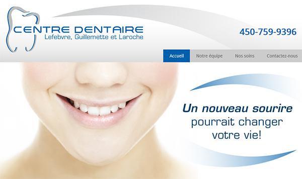 Centre Dentaire Lefebvre, Guillemette Et Laroche En Ligne