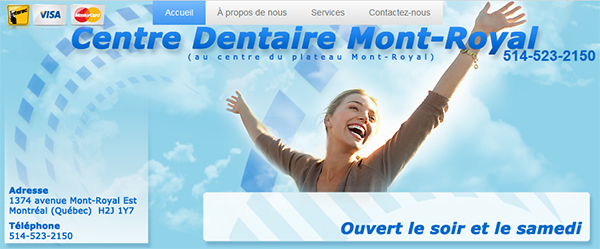 Centre Dentaire Mont Royal En Ligne